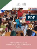 Manual Observacion de La Clase ENE16