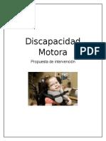 informe discapacidad motora