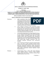 Peraturan Kapolri Nomor 10 Tahun 2009 Tentang Tata Cara Dan Persyaratan Permintaan Pemeriksaan Teknis Kriminalistik Tempat (1)