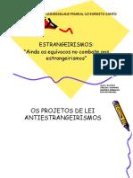 Estrangeirismos Slides
