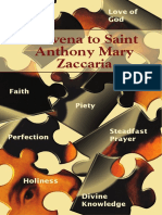 Novena St Anthony Mary Zacccaria