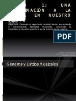 Generos y Estilos Musica Docta 2do Es