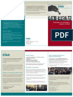 CIAS Programa en Liderazgo Político