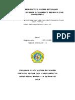Contoh Manajemen Proyek Sistem Informasi