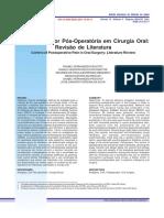 Controle Da Dor Pos-Operatoria Em Cirurgia Oral