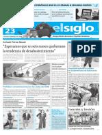 Edición Impresa El Siglo 23-05-2016