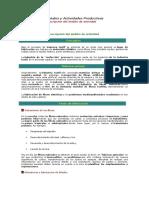 Impactos Ambientales y Actividades Productivas OPCION