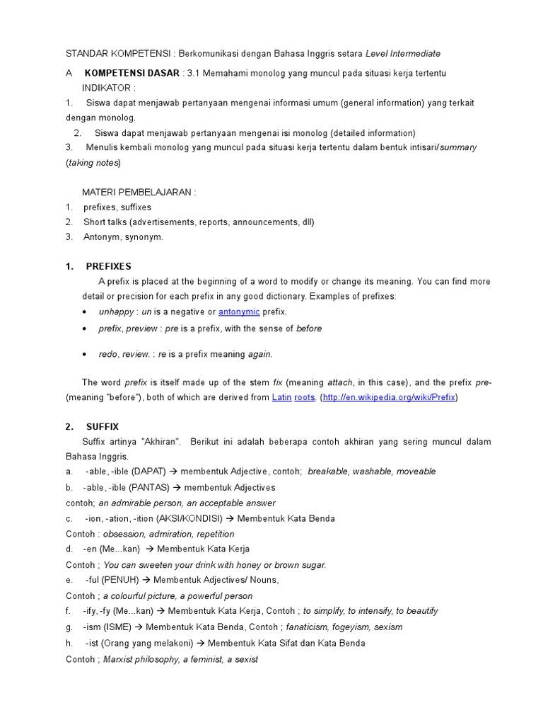 10 Contoh Soal Bahasa Inggris Reservation Kumpulan Contoh Soal