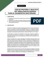 Práctica 10. Determinación de Pcr Mad i