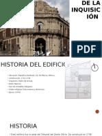 Arquitectura del Palacio de la Inquisicion