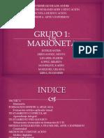 Diapositivas Del Grupo Marioneta