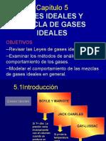 Gases Ideales y Mezclas