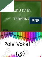 Bab 4 Sukukata Terbuka