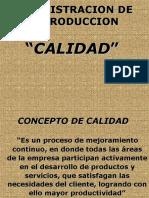 Adm. de La Produccion Calidad