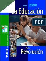 Educacion en La Revolucion Estadistica Oficial