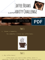 coffee beans  commodity challenge