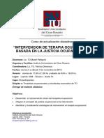 justicia ocupacional