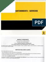 Manual de Garantia - Mantenimiento - Servicios de Renault
