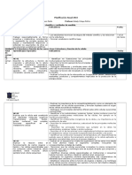Planificación anual biología 1° medio