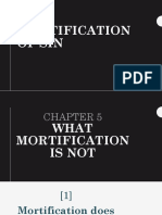 mortification of sin - 5