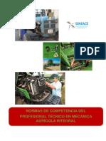 Norma de Competencia en Mecanica Agricola