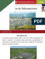 Ubicación de Subestaciones