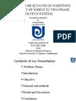 Dinesh Dissertation Presentation