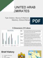 cultural presentation