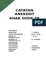 CATATAN ANEKDOT