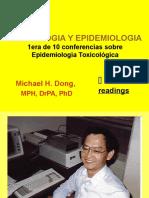 toxicologia y epidemiologia
