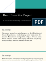 heart dissection project