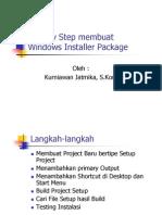 Step by Step Membuat Windows Installer Package-Revisi 2