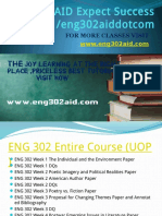ENG 302 AID Expect Success Eng302aiddotcom