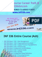 INF 336 Course Career Path Begins Inf336dotcom