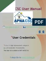Apna Csc User Manual