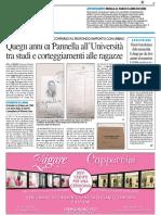 Quegli anni di Pannella all'Università tar studio e corteggiamenti alle ragazze - Il Resto del Carlino del 22 maggio 2016