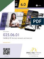 025 HeNB Network Architecture