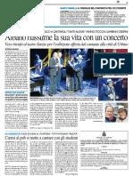 Albano riassume la sua vita in un concerto / Pannella