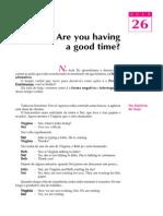 Telecurso 2000 - Ensino Fund - Inglês - Vol 01 - Aula 26