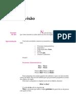 Telecurso 2000 - Ensino Fund - Inglês - Vol 01 - Aula 29