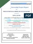 Summer Internship on MSME sector at Dena Bank