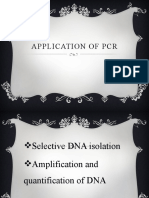 Application of Pcr (1)