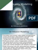 Week 7,8 - Air Quality Modelling