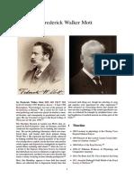 Frederick Walker Mott