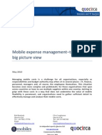 Mobile expense management–taking the big picture view
