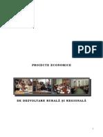 Proiecte Economice de Dezvoltare Rurala Si Regionala