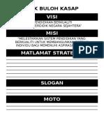 Visi, Misi, Matlamat Strategik, Slogan, Moto