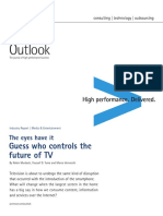Accenture Outlook the Eyes Have It Guess Who Controls the Future of TV Media Entertainment