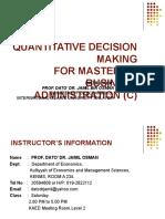 Statistics Lecture 1