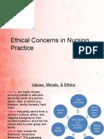 10. Ethical Concerns in Nursing Practice